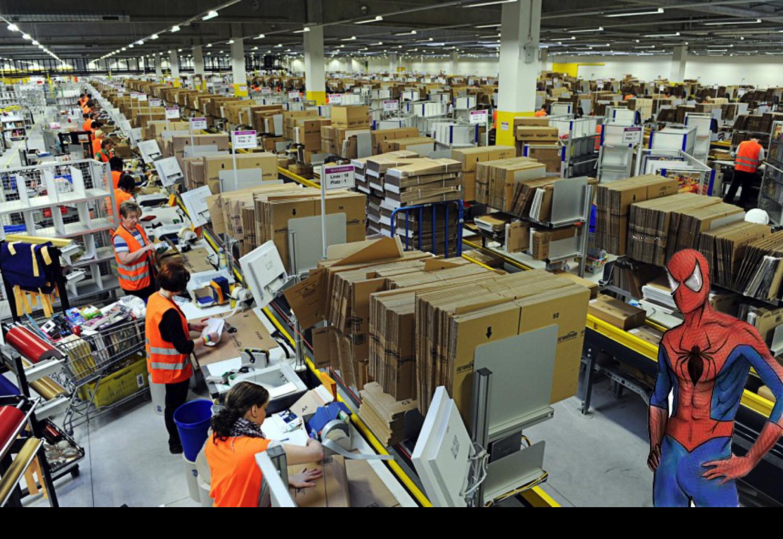 Amazon Freight Forwarder Making Spider-Man Shipping Sense Tingle