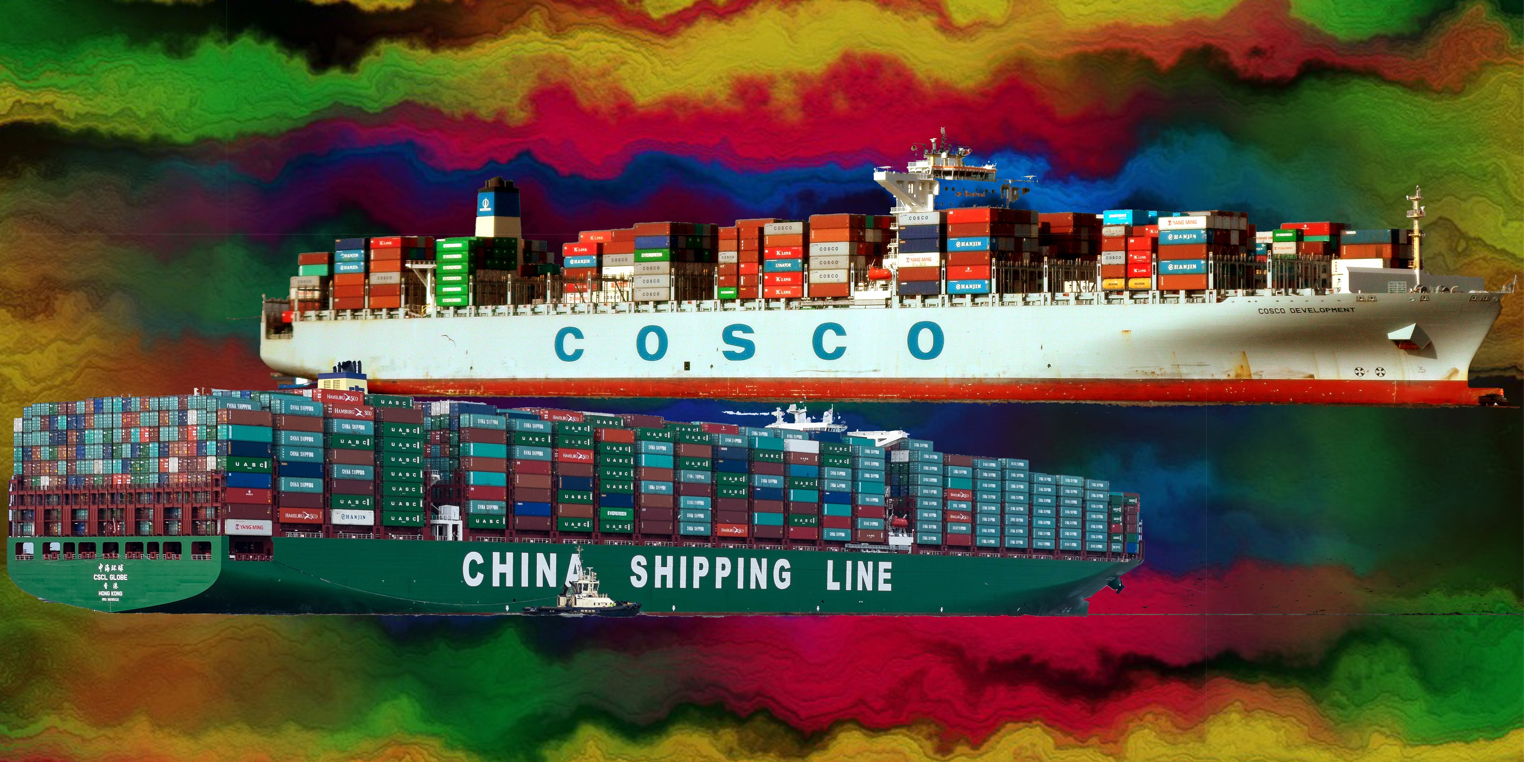 Here Comes China Cosco Shipping Corporation, Shipping