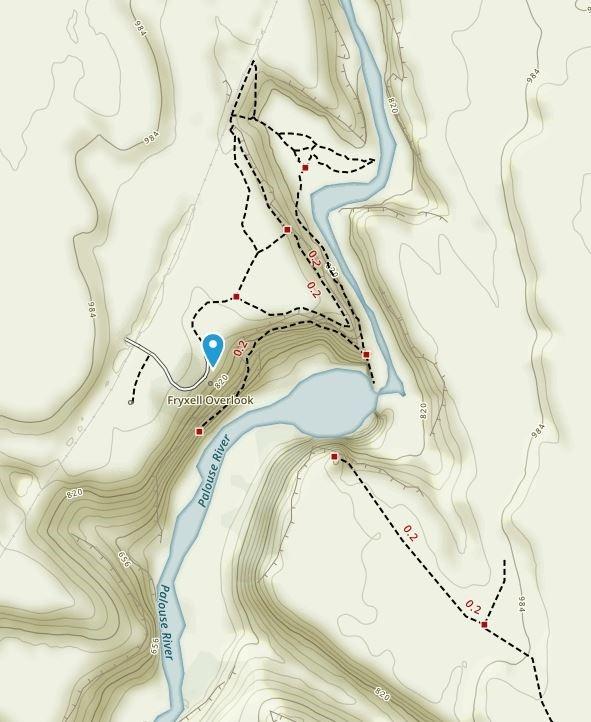 Palouse Falls Washington Map.Palouse Falls At Palouse Falls State Park