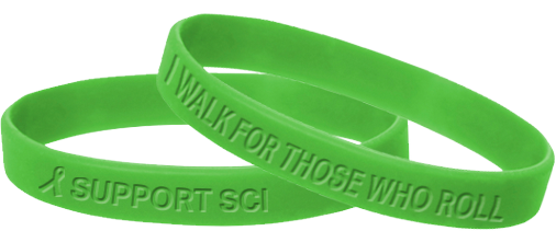 SCI Awareness Wristband