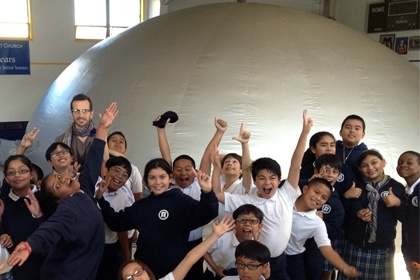 Kids Love the SkyDome Planetarium