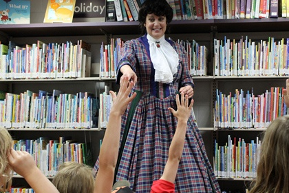 Women in History Libraries and School Assemblies School Shows