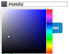 layout color image options