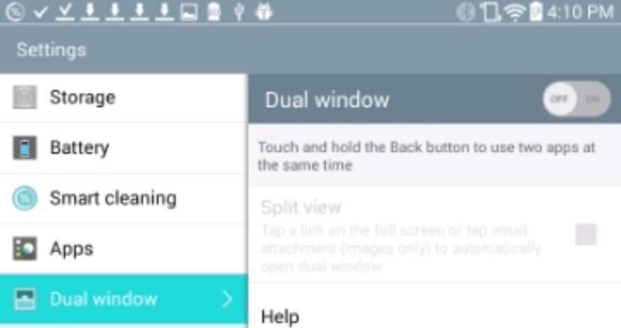 Dual Window