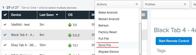 send file screenshot