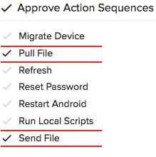 full file and send file nav screenshot