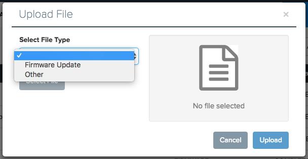 upload a file screenshot