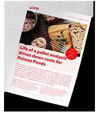 Case Study Mockup LPR Princes food small