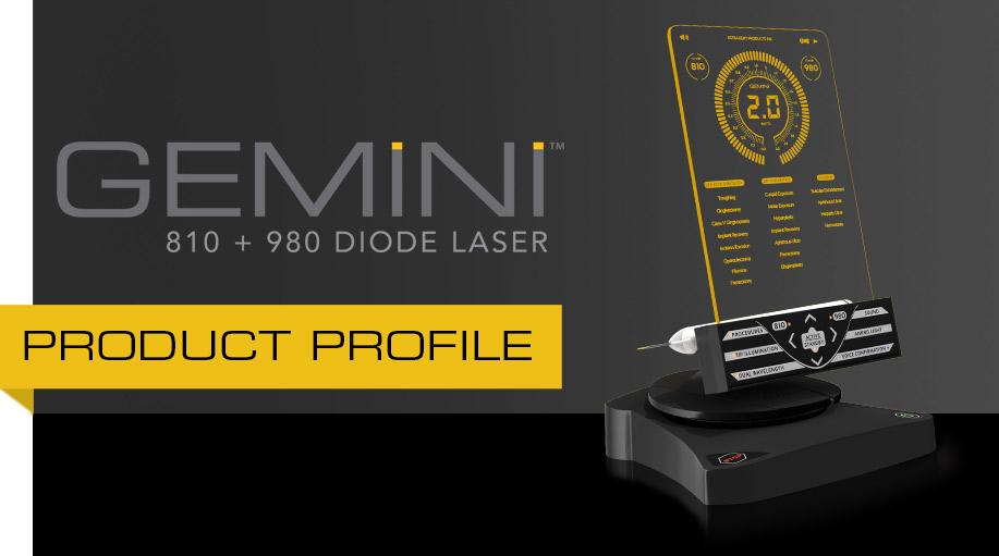 Gemini laser Product Profile