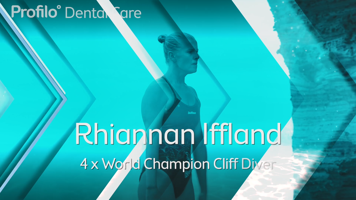 Brace Yourself: Invisalign interview with 4 x World Champion Cliff Diver Rhiannan Iffland