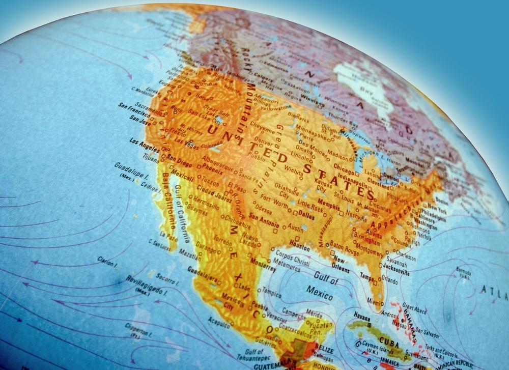 North America, continent