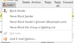 Add Email To Safe Senders List