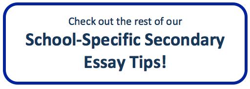 Georgetown college essay topics