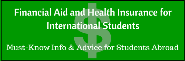 Financial Aid and Health Insurance for International Students - Listen for tips!