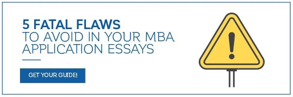 mba application essay examples