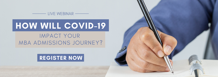 How will Covide-19 impact your MBA admissions journey?