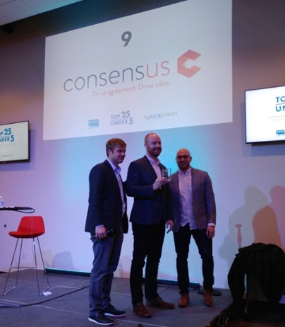 Consensus Snags #9 in UVEF Top Utah Tech Startups