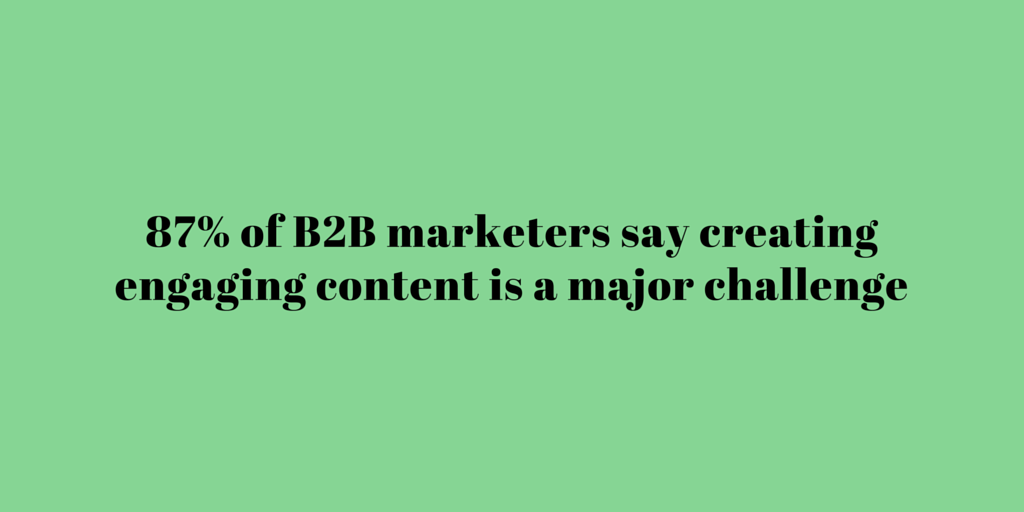 Creating Engaging Sales Content Is Still a Major Challenge