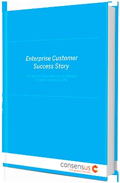 Enterprise Customer: Company Sees 68% Shorter Sales Cycle Using Consensus