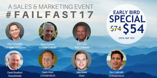 Join us at FAILFAST17 - Let's Talk Failure