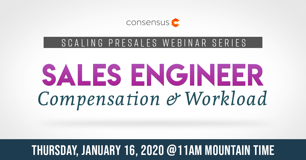 Webinar: Sales Engineer Salary & Workload
