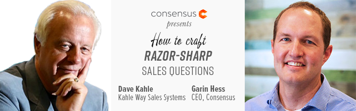 Webinar: How To Craft Razor-Sharp Sales Questions