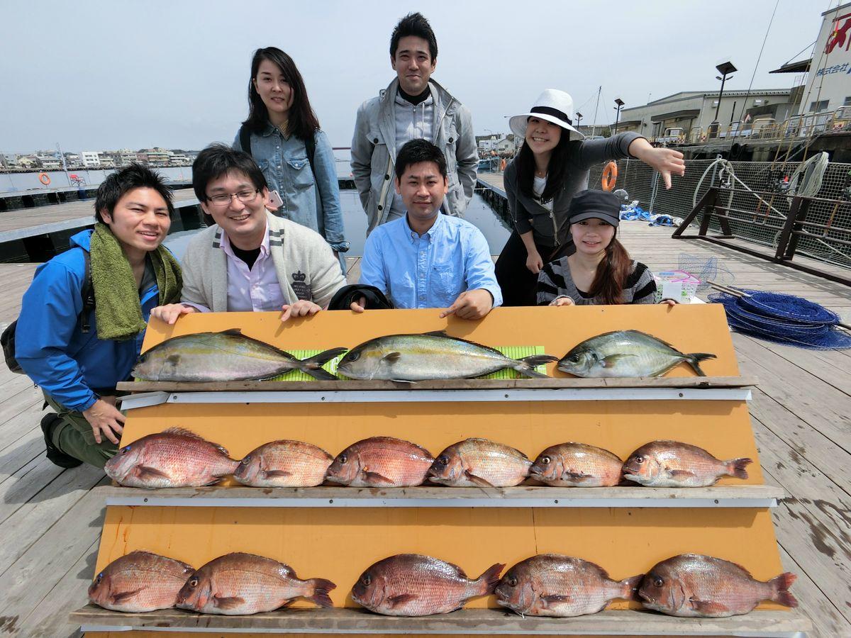 【海上釣り堀入門】マダイ、カンパチ、シマアジが大漁!