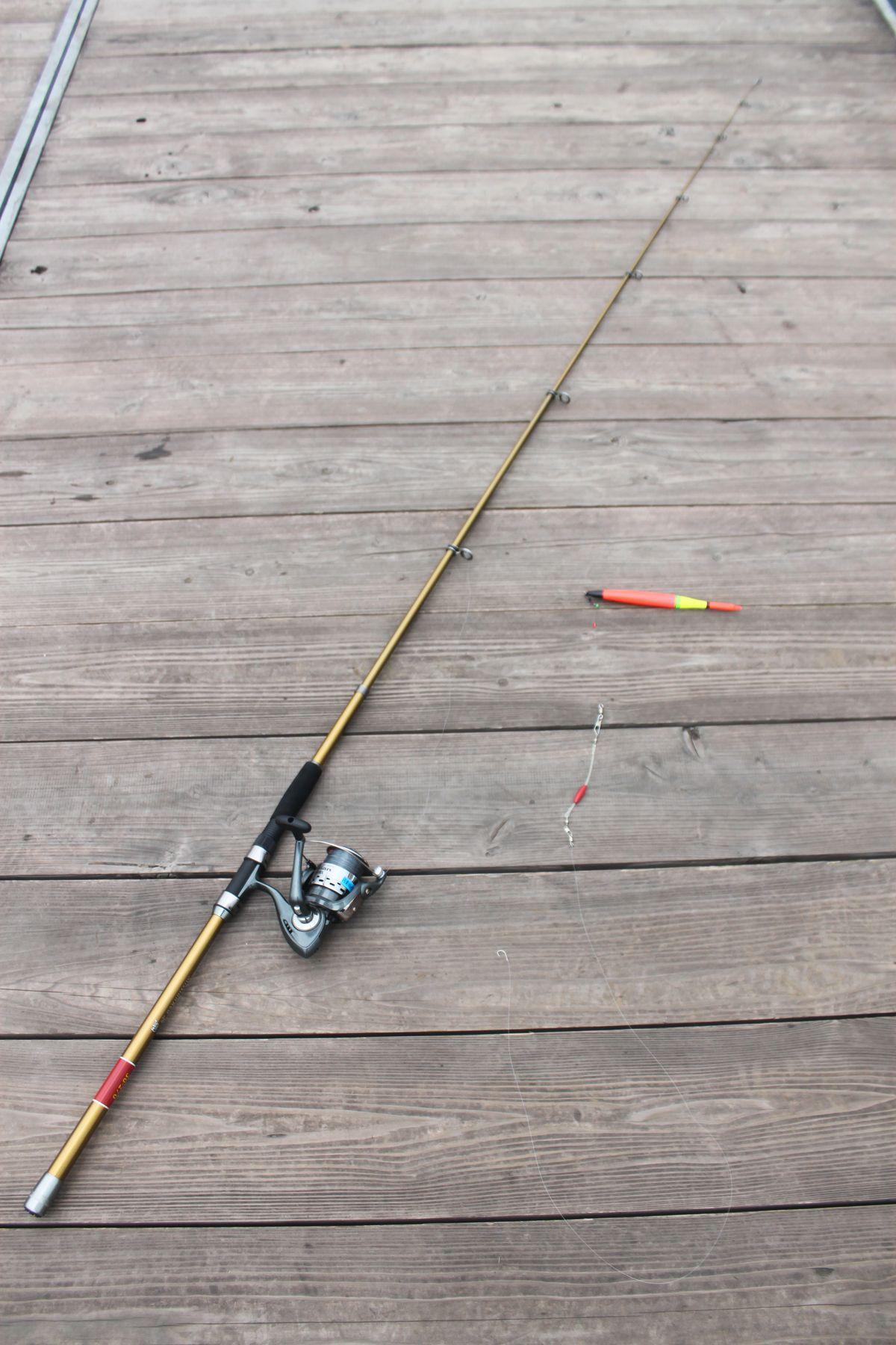 【海上釣り堀入門】レンタルの釣り道具が充実