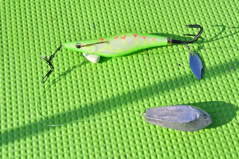 【東京湾の餌木タコ(エギタコ)入門】仕掛けに捨て糸を付けた