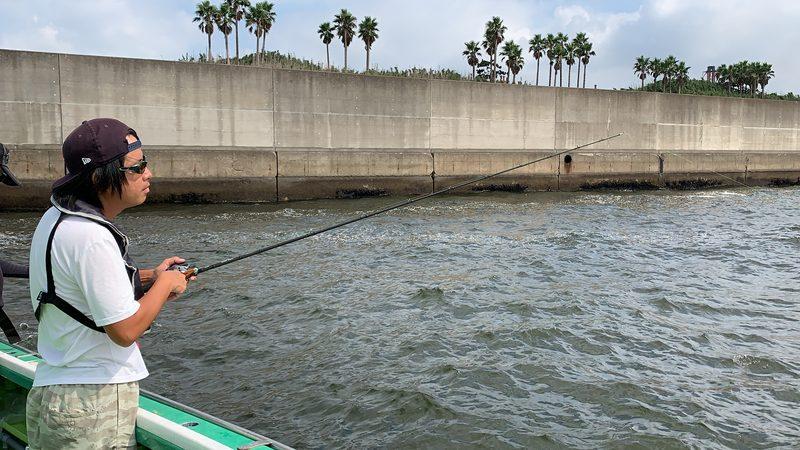 【東京湾の餌木タコ(エギタコ)入門】シェイクでタコを誘う