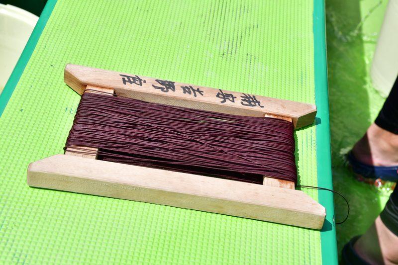 【東京湾の餌木タコ(エギタコ)入門】手釣りの糸