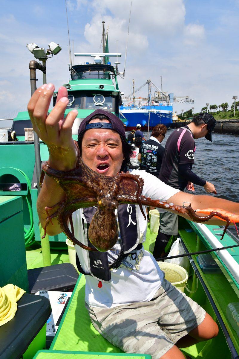 【東京湾の餌木タコ(エギタコ)入門】ちょうど10ハイキャッチ