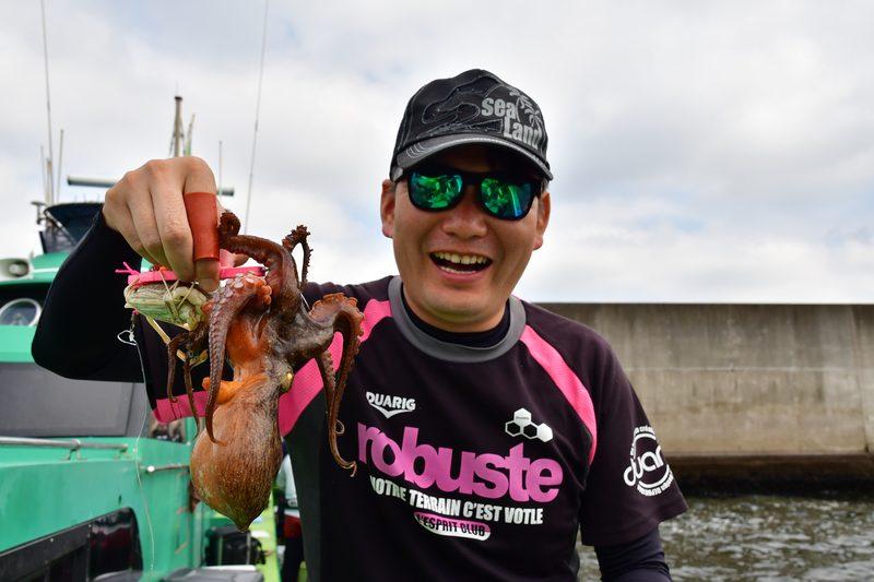 【東京湾の餌木タコ(エギタコ)入門】隣の釣り人