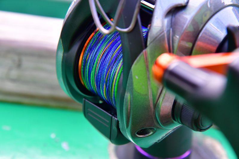【東京湾の餌木タコ(エギタコ)入門】沖釣り専用ベイトリールにPEライン3号