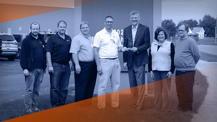 Manufacturing Technology, Inc. Recognized for Outstanding Safety by Amerisure Insurance Company
