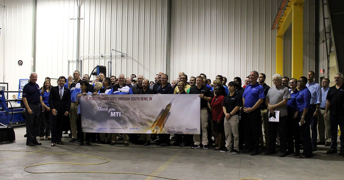 NASA and Other Key Members Acknowledge MTI for Contributions in Journey to Mars