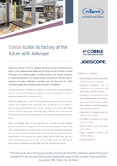 Cobble builds its factory of the future with Jobscope