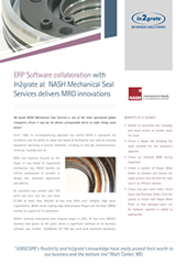 ERP Software collaboration with In2grate at NASH Mechanical Seal Services delivers MRO innovations