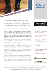 Pantherella breaks with industry convention by choosing Microsoft Dynamics NAV with TRIMIT Fashion