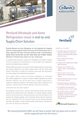 Pentland Wholesale and Acme Refrigeration invest in end-to-end Supply Chain Solution