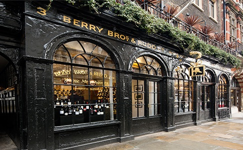 Customer Evening at Berry Brothers & Rudd on October 2016