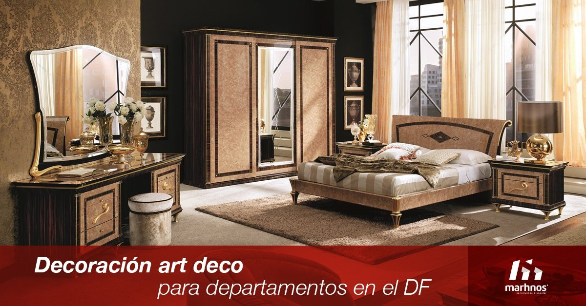Decoraci n art d co para departamentos en el df for Art deco decoracion