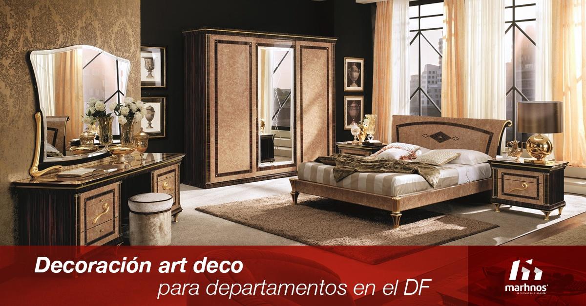Decoraci n art d co para departamentos en el df for Art deco decoracion