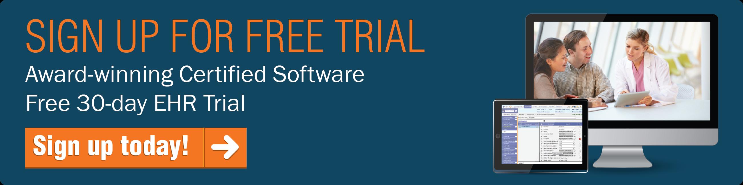 Emr software best ehr software for small practices revenuexl free emr trial fandeluxe Gallery