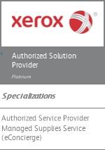 Xerox Platinum Solutions Provider