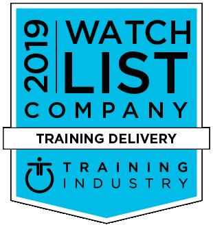 2019 Training Industry Top Training Companies logo