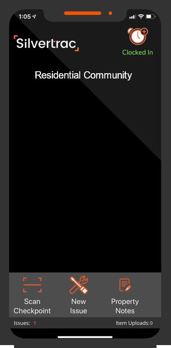 iOS Guard Management App