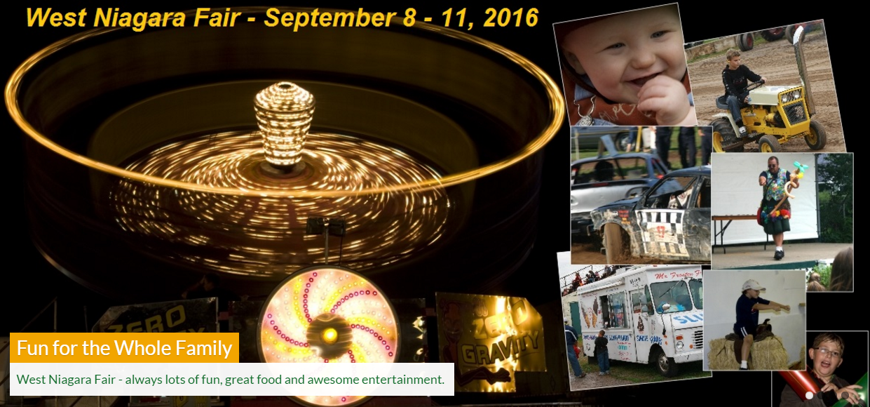 Greater Niagara Region Fall Fairs, Festivals and Events