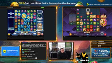 Mr Gamble on twitch