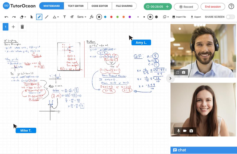 TutorOcean-online-classroom-tutoring-math